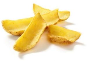 Картофель фри для соуса с кожурой