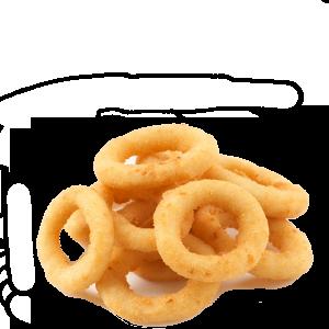 Луковые кольца в кляре