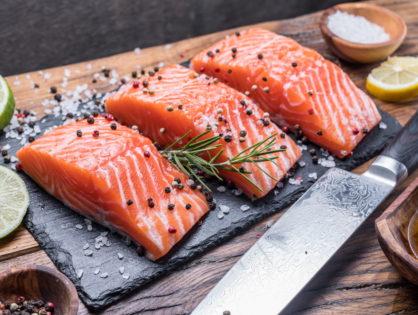 Как засолить красную рыбу (форель, лосось).