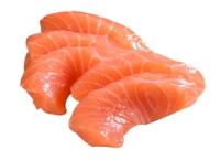 Кусочки лосося