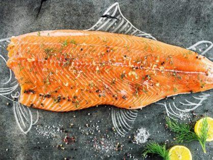 Разделка рыбного филе.