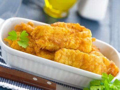 Филе сайды в сырном кляре